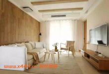 102㎡温馨系日式三居室,原木装饰收纳好,舒适实用好宜居!-三思生活网