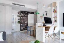 小户型空间装修赏析,素雅的小两房装修风-三思生活网