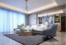 原木打造三居室简约风格装修,高级质感满满-三思生活网