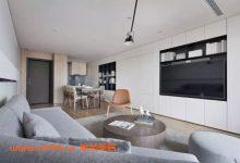 77平的现代风小户型二居室,收纳能力比90平的房子都强-三思生活网