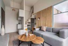 40㎡loft公寓,兼顾采光与收纳。年轻人最喜欢的风格-三思生活网