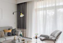 95㎡北欧风三居室,灰色+木质,高冷中带点温暖-三思生活网
