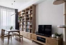 60㎡日式风格装修,当书房成为C位,窗前看书、灯下撸猫,超安逸!-三思生活网