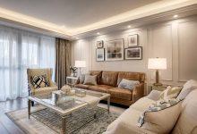 148m²美式轻奢四居室,12%空间做收纳,还有颜值担当!-三思生活网