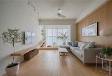 现代简约原木风格装修,阳台改造茶室悠闲自得-三思生活网