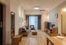 95平米三室两厅简约原木风格,崇尚简单自由,展示质朴优雅-三思生活网