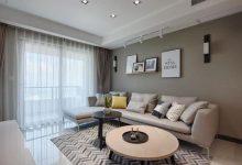 一个让人放松的家,不豪华、很简约,现代简约装修样板间-三思生活网