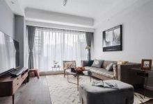 128北欧新房,灰调客厅高贵奢华,全屋简约超有时尚感-三思生活网