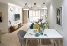 85平温馨北欧风格 家就要有家的模样-三思生活网