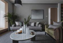 原木现代简约新房装修设计,简单的两色搭配,时尚又好看!-三思生活网