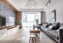 130平方简约北欧风装修,原木风+浅色调,实用又上档次-三思生活网