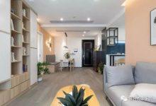 72㎡北欧风格装修设计,温馨小家,看着舒服-三思生活网