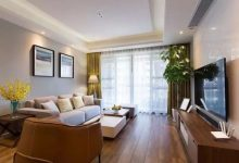 128㎡现代简约风,简洁自然的家具软装配饰,让人看了就非常心动-三思生活网