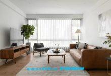 复古与现代交融的三居室,自然清新、舒适宜居且富有艺术感!-三思生活网