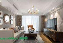 150㎡优雅美式4室2厅房屋装修设计效果图,嵌在骨子里的细节流动-三思生活网