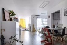93㎡两居新家,全屋只刷大白不吊顶,简单装修漂亮又实用!-三思生活网