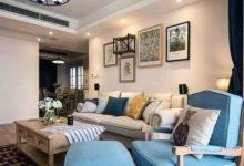 130平美式风格新居装修效果图,完全可做小区装修样板房-三思生活网