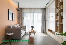 舒适又惬意的76平北欧风二居室装修设计样板房-三思生活网