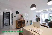 75平一居室简约风单身公寓,轻松又舒适的文艺范儿装修设计-三思生活网