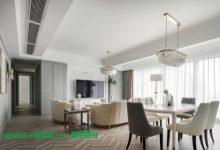 45万豪装137平美式新房极具品质感,都快成小区样板房了-三思生活网