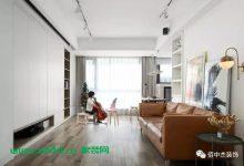 100㎡舒适北欧3室2厅装修效果图,非常实用的儿童房!-三思生活网