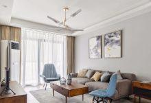 108㎡现代北欧2室2厅装修风,温馨而舒适的惬意生活-三思生活网