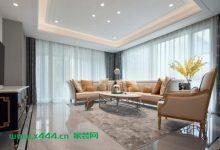 现代气质轻奢风,让生活处处优雅,空间蕴涵温馨气息和感染力-三思生活网