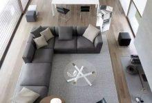 大平层现代极简个性客厅装修风格欣赏,非常舒服的家装-三思生活网