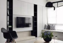 简行风尚:三居室的现代时尚简约风格装修欣赏-三思生活网