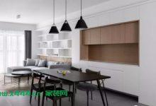 128m²现代简约三居装修效果图,充足的储物空间,让房间看上去更大-三思生活网