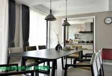 186平的现代简约风大房子,宽敞明亮而又惬意舒适-三思生活网