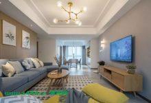 21平的简约风三居室,灰、白、木打造的舒适之家-三思生活网