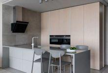53㎡ 简约风,一室一厅单身公寓装修设计效果图-三思生活网