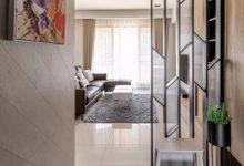 100㎡现代简约风格,充满优雅与华丽气质的空间气息-三思生活网