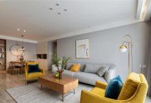 133㎡北欧风三室装修,灰色调与木质感的结合,高级又养眼-三思生活网