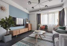130平的北欧风三房装修效果图,双胞胎儿童房是亮点-三思生活网