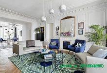 170m²大平层美宅,新古典与欧式的碰撞,演绎浪漫法式优雅!-三思生活网