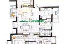 140平的四室一厅,美式风格装修,简洁沉稳大气!-三思生活网