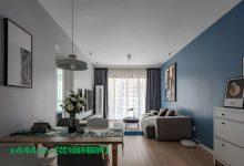 78㎡现代简约装修样板房欣赏,书房的折叠床,小空间利用出新花样-三思生活网