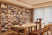 带书房的客厅,全屋书香雅韵美不胜收,羡慕-三思生活网