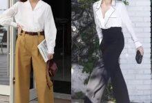 衬衫和阔腿裤怎么搭配?-三思生活网