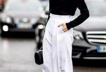 白色裤子怎么穿搭图片-三思生活网