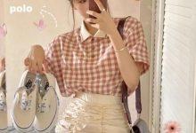 短裙搭配什么上衣图-三思生活网
