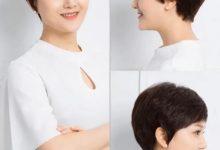 50岁的女人圆脸适合什么发型-三思生活网