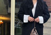 厚外套+阔腿裤,冬天这样穿保暖又洋气-三思生活网