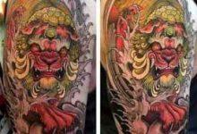 唐狮纹身寓意是什么-三思生活网