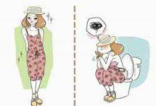 女生穿连体裤怎么上厕所的-三思生活网