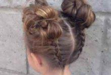 6岁小姑娘头发扎法-三思生活网