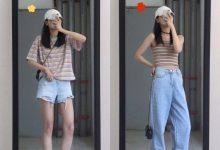 夏天上半身显瘦穿搭图片-三思生活网