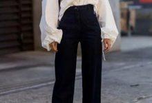 衬衣和阔腿裤怎么搭配好看?-三思生活网